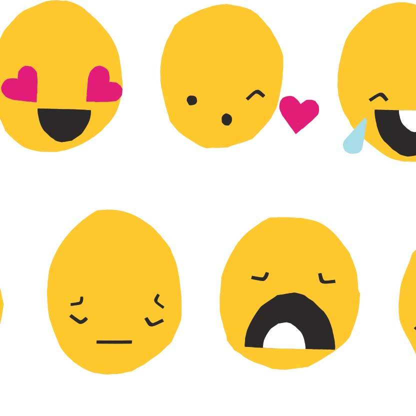 Display emojis